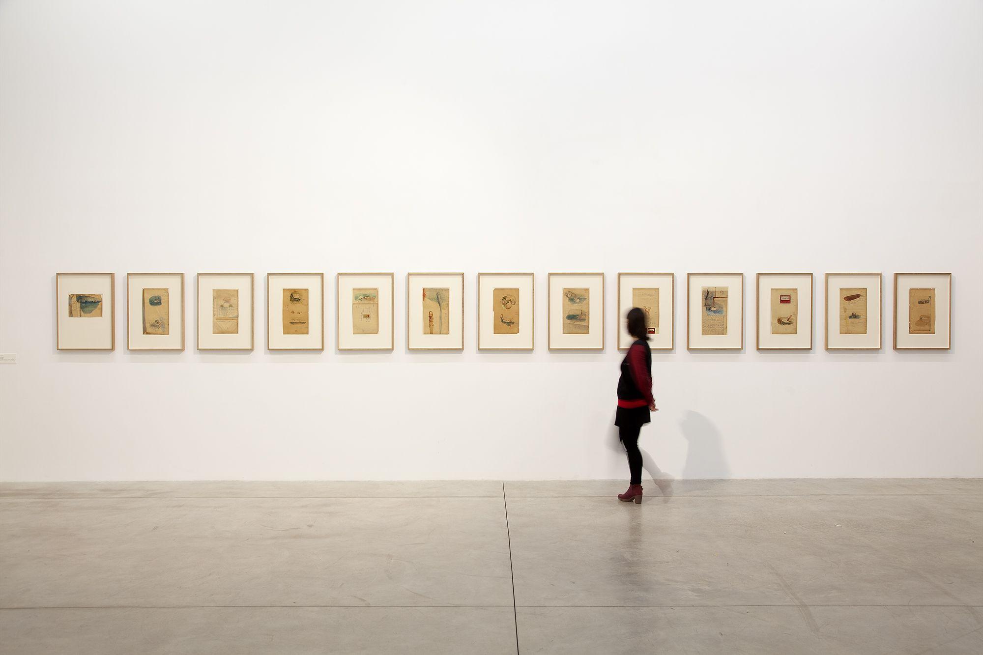 La exposición de Juan Uslé en Bombas Gens.