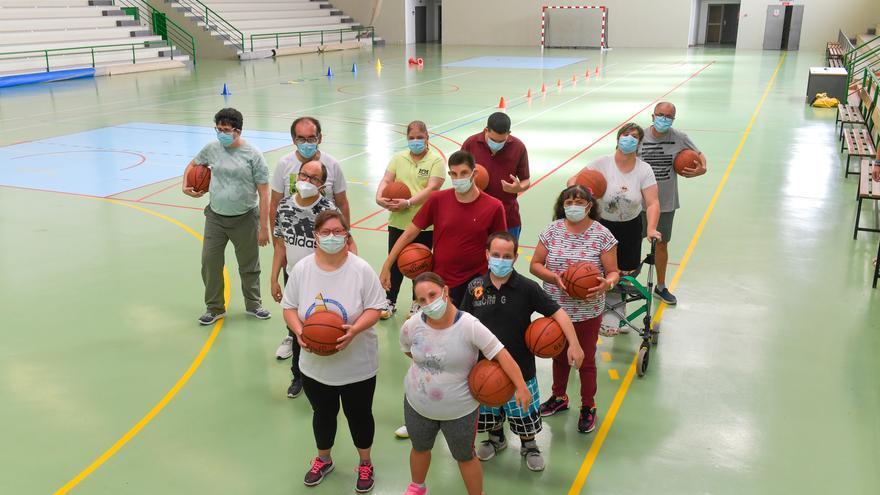 Proyecto de inclusión SUMA de baloncesto en Ingenio