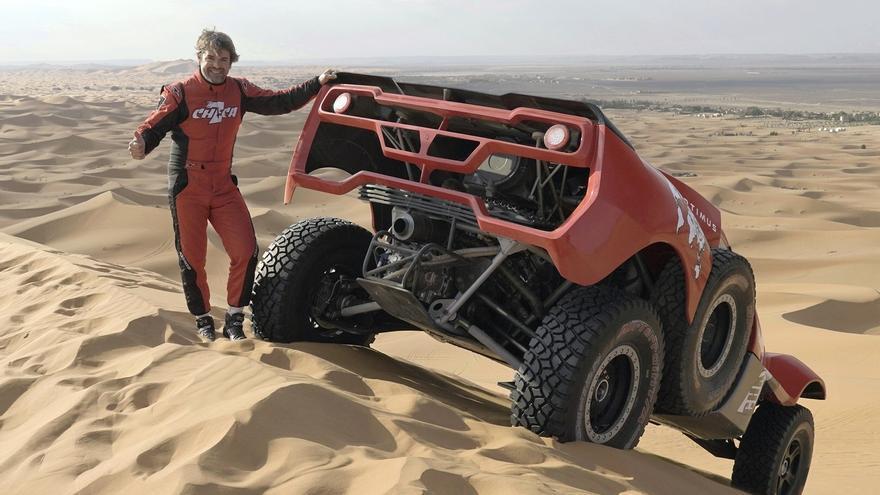 Carles Checa correrà el Dakar 2022