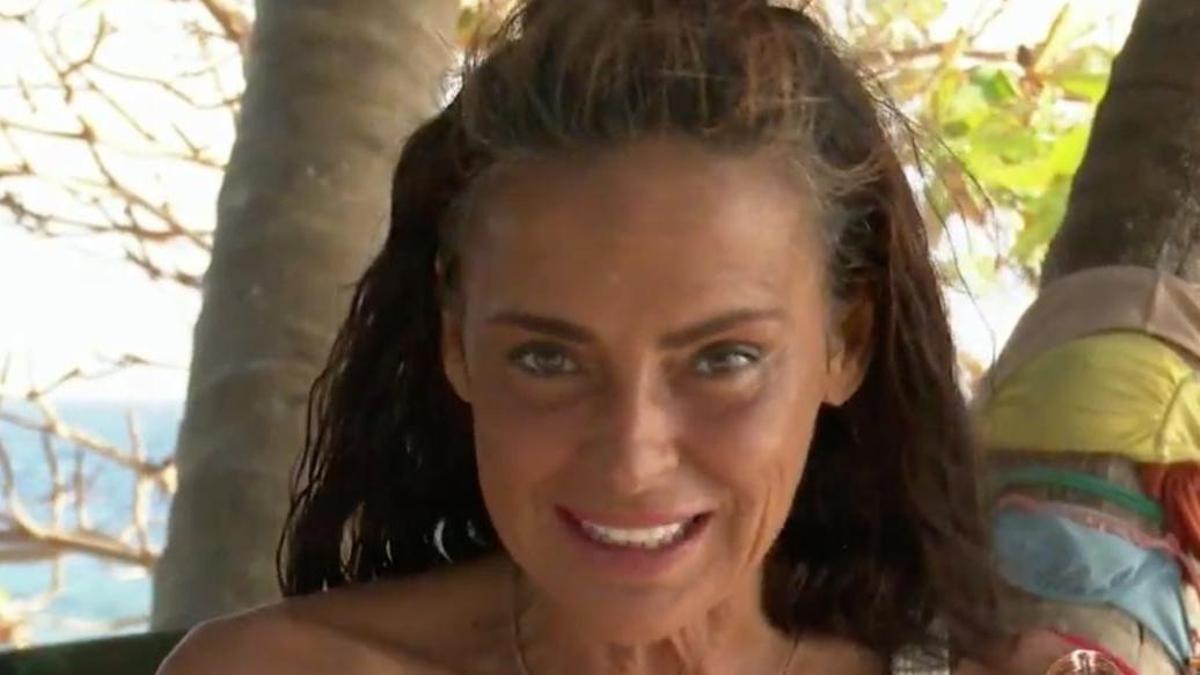 Olga Moreno, durante su alegato.