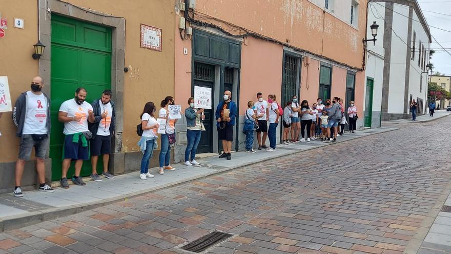Trabajadores del Paco Artiles piden un embargo suspensivo de la compensación económica a Lude