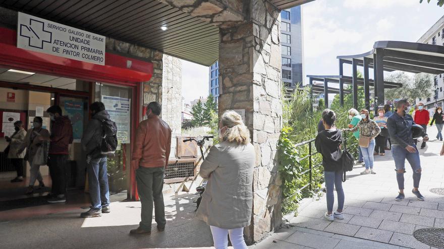 El Sergas reactiva la opción de pedir cita presencial en los centros de salud