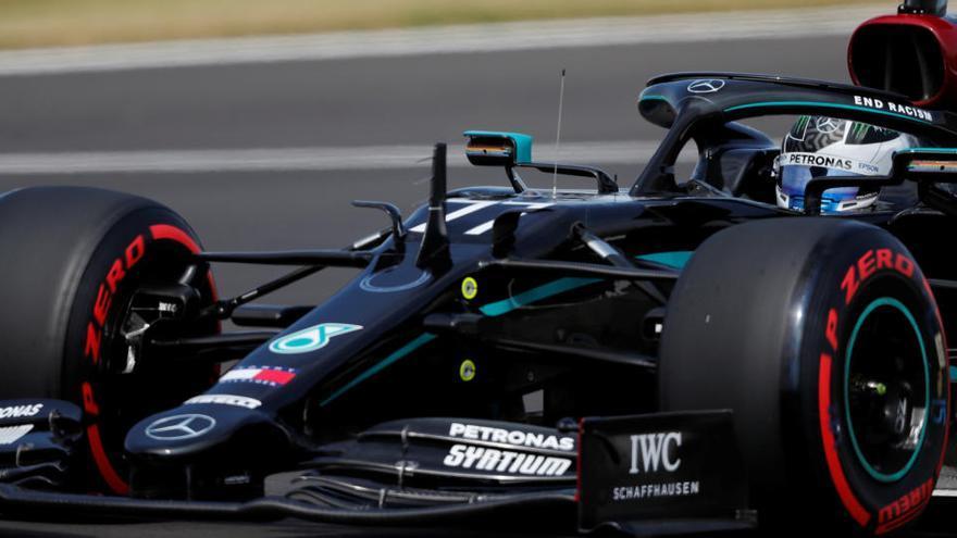 Valtteri Bottas logra la 'pole' en el GP 70º Aniversario
