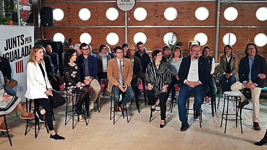 Marc Castells omple els primers llocs de la candidatura amb cares noves