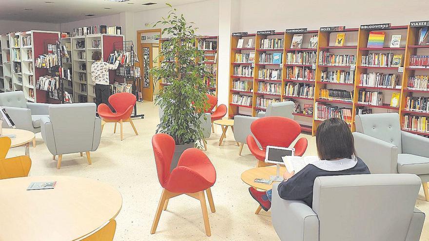 La biblioteca de Porriño se reinventa en pandemia