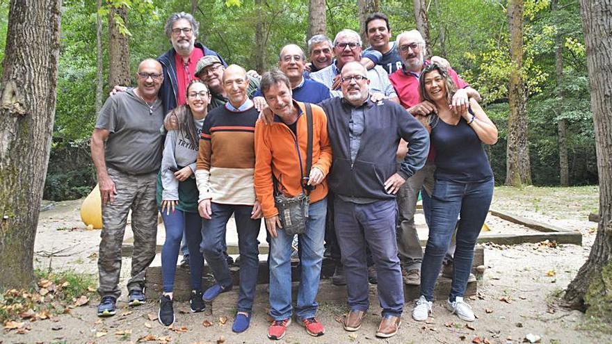 La colla del Parc Petit de Figueres recupera la seva trobada anual
