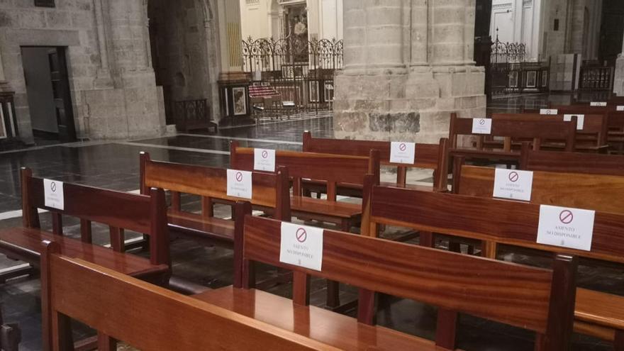 """La Catedral llega a la fase 1 con desinfección """"completa"""" y  aforo de hasta 200 personas"""