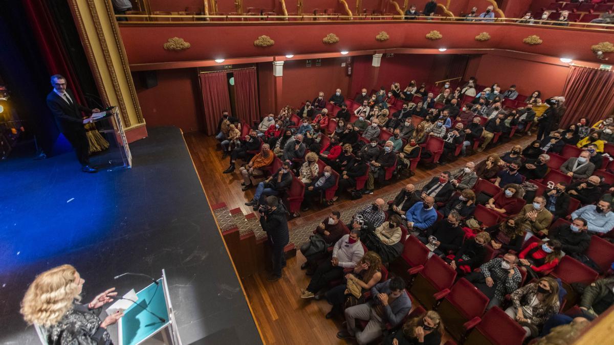 La última gala de los Premios Avetid en el Talía.