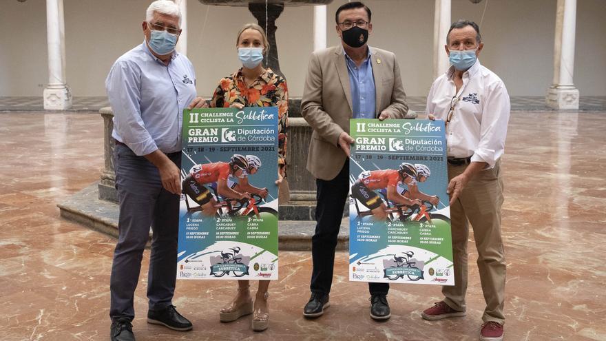Más de 130 ciclistas de toda España participarán en la 2º Challenge Ciclista de la Subbética
