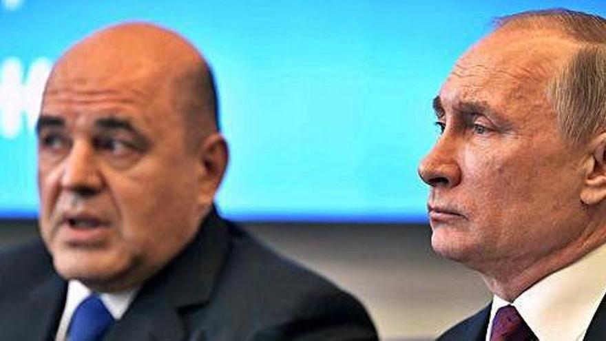El Govern rus dimiteix per l'anunci d'una reforma constitucional de Putin