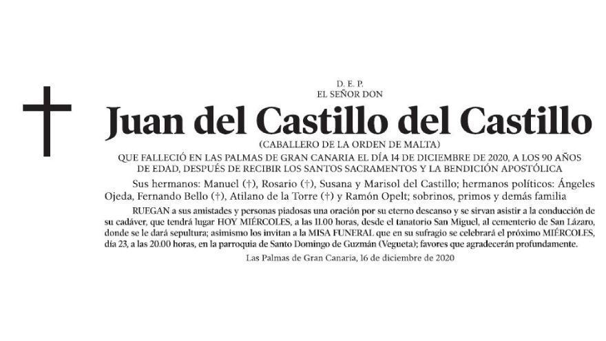 Juan del Castillo del Castillo