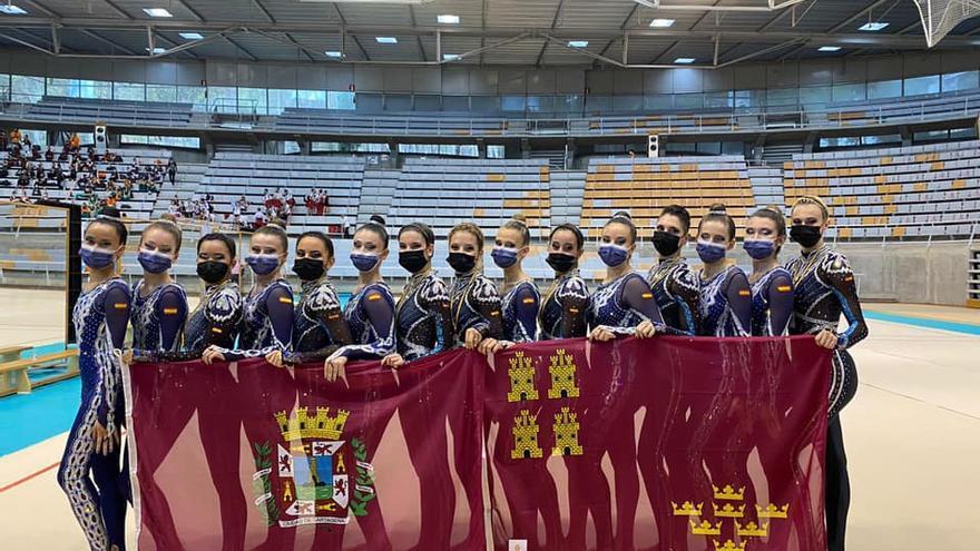 Federación de Gimnasia Estética de Grupo de la Región: creando las campeonas del mañana