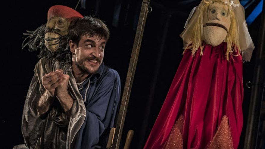 'Hamlet', con marionetas, en el Teatre del Mar