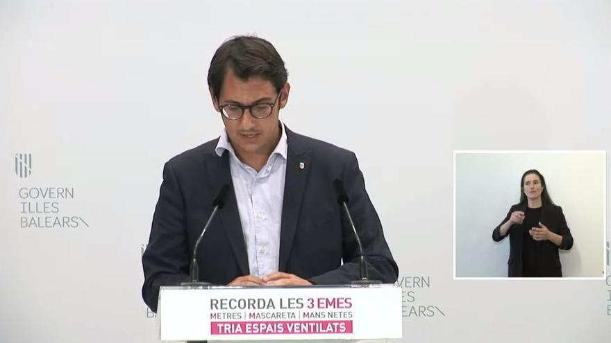 """Negueruela: """"Mantenemos las medidas para mantener el control estricto en las islas"""""""