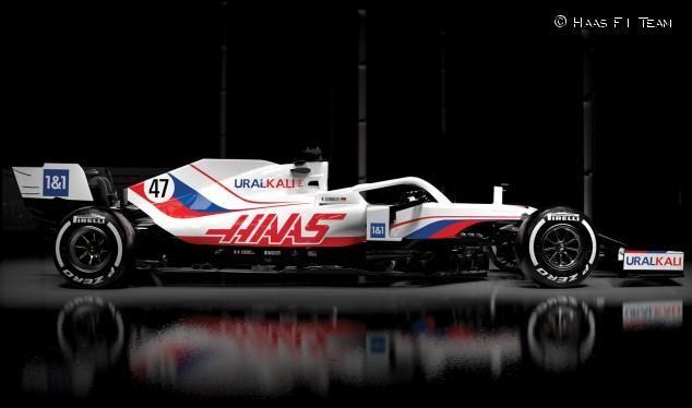 Haas VF21 - (Nikita Mazepin y Mick Schumacher)