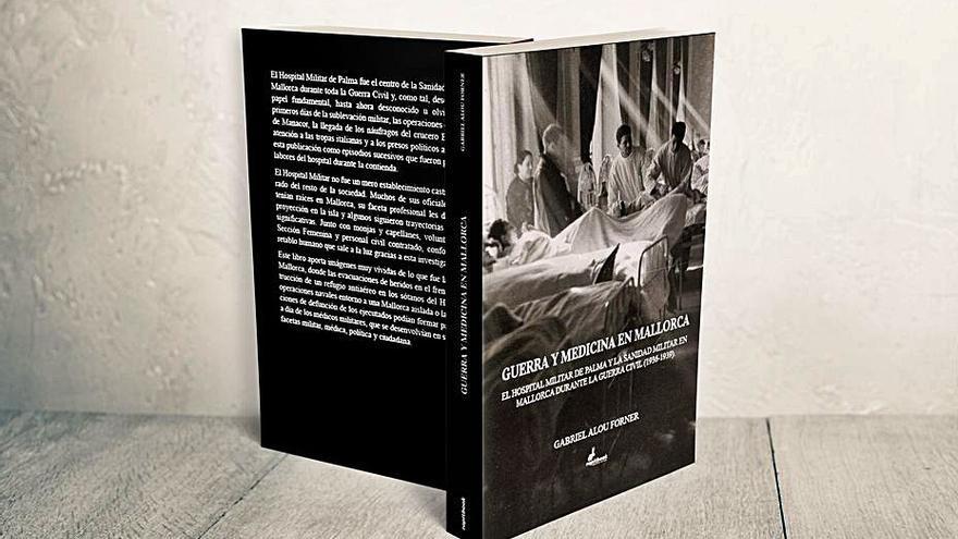 El historiador y diplomático Gabriel Alou presenta 'Guerra y medicina en Mallorca'