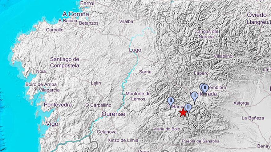 Ourense vive el terremoto de mayor magnitud en 20 años y llega a León