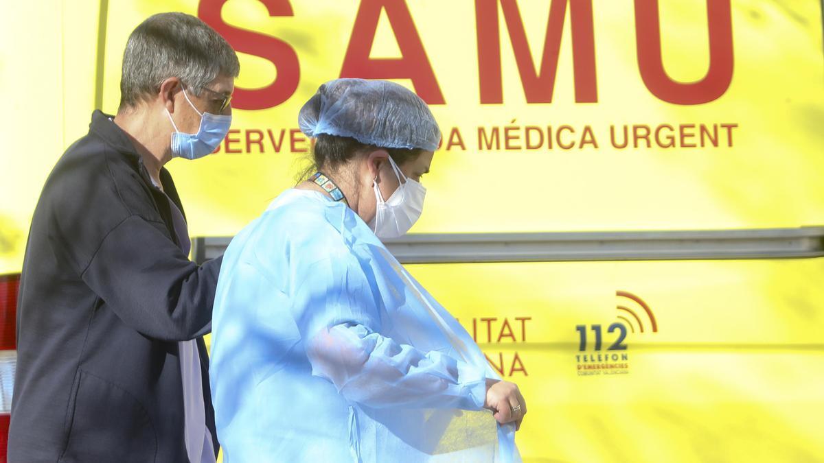 La Comunitat Valenciana lidera la incidencia acumulada de coronavirus en el país