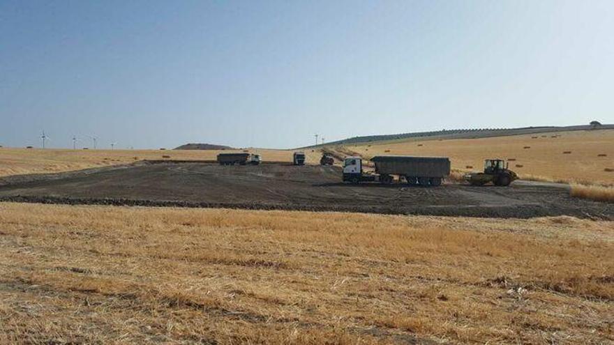 Endesa inicia la construcción del parque eólico de Los Arcos