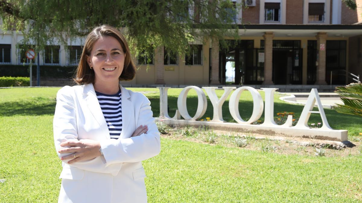Pilar Castro, decana de la Facultad de Económicas y Empresariales.