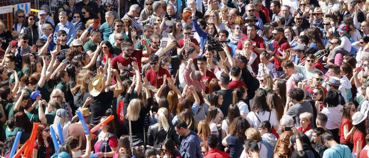 Las «mascletades» son uno de los momentos favoritos de los carteristas por la gran aglomeración de personas.