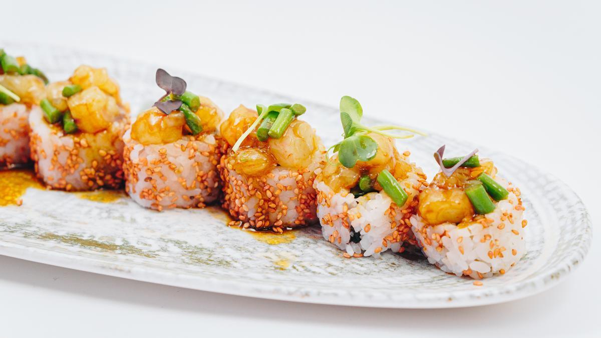 Nuevo restaurante de sushi en Valencia.