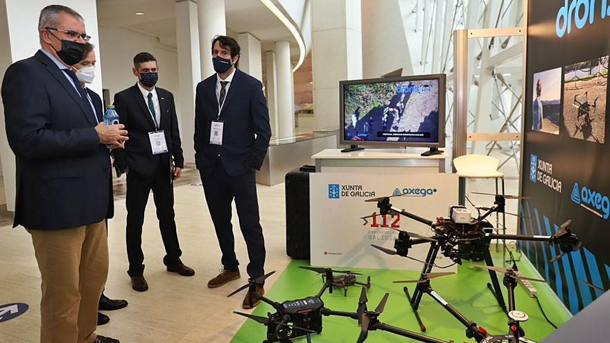 Sedexpo se presenta en la feria de drones