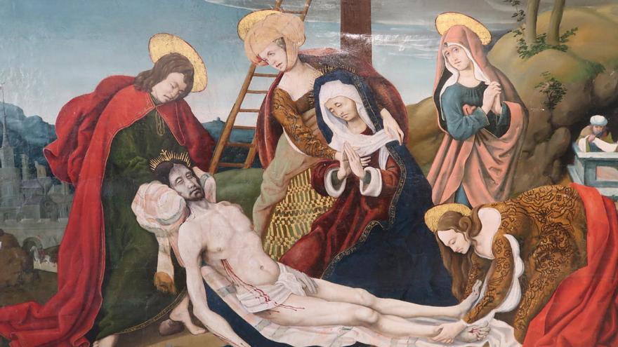 Cultura compra una taula gòtica de Lluís Borrassà i una renaixentista del Mestre d'Argelers per 83.000 euros