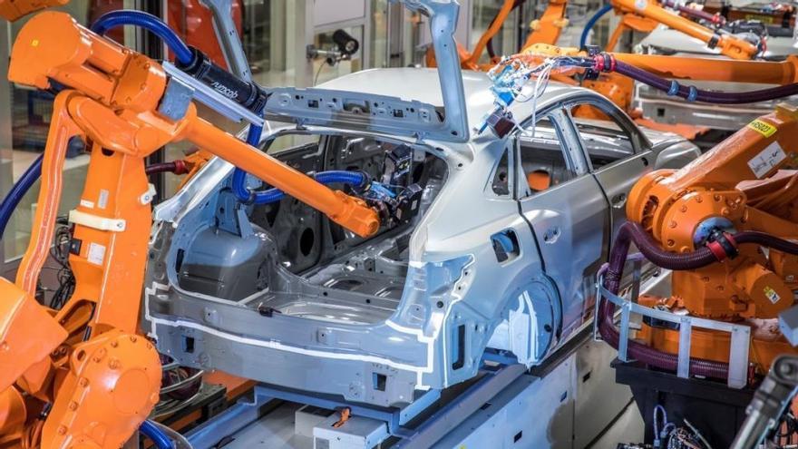 Audi crea un nuevo proceso de sellado de las carrocerías en la línea de pintura
