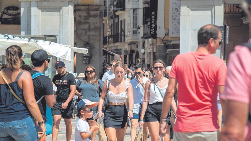 Palma descarta cobrar una tasa específica a los turistas que visiten su centro histórico