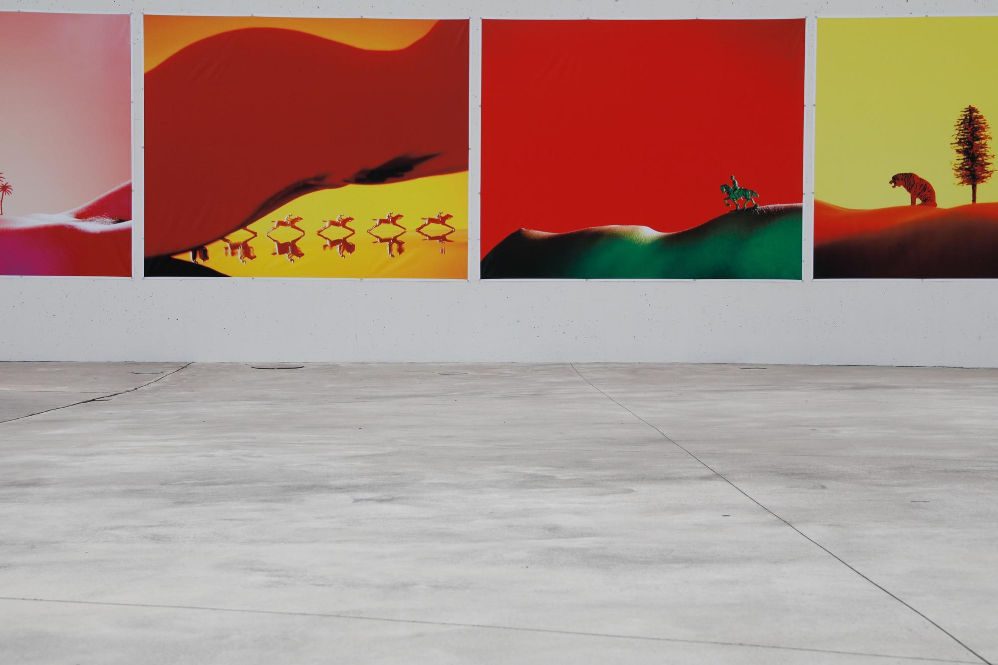 """El """"mapamundi"""" del Niemeyer"""