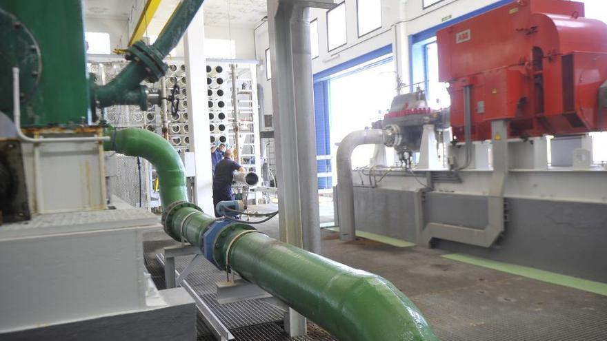 Una desaladora impulsada por renovables para abastecer de agua de regadío