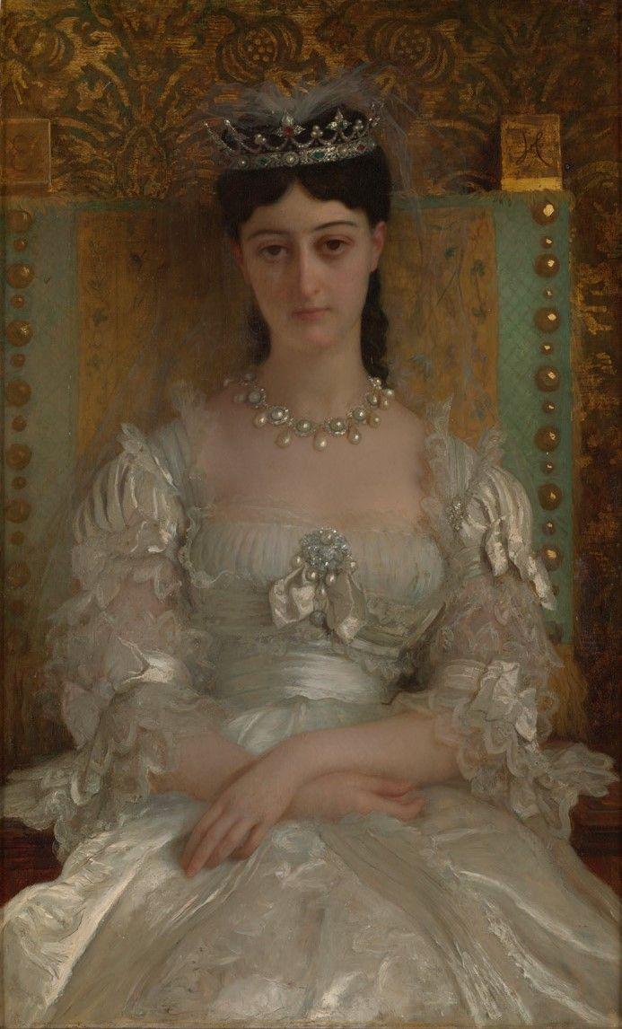 Ernst Hébert, Retrato de Julia Fernanda Dominé y Desmaisières, X Marquesa de Jabalquinto (1872).jpg