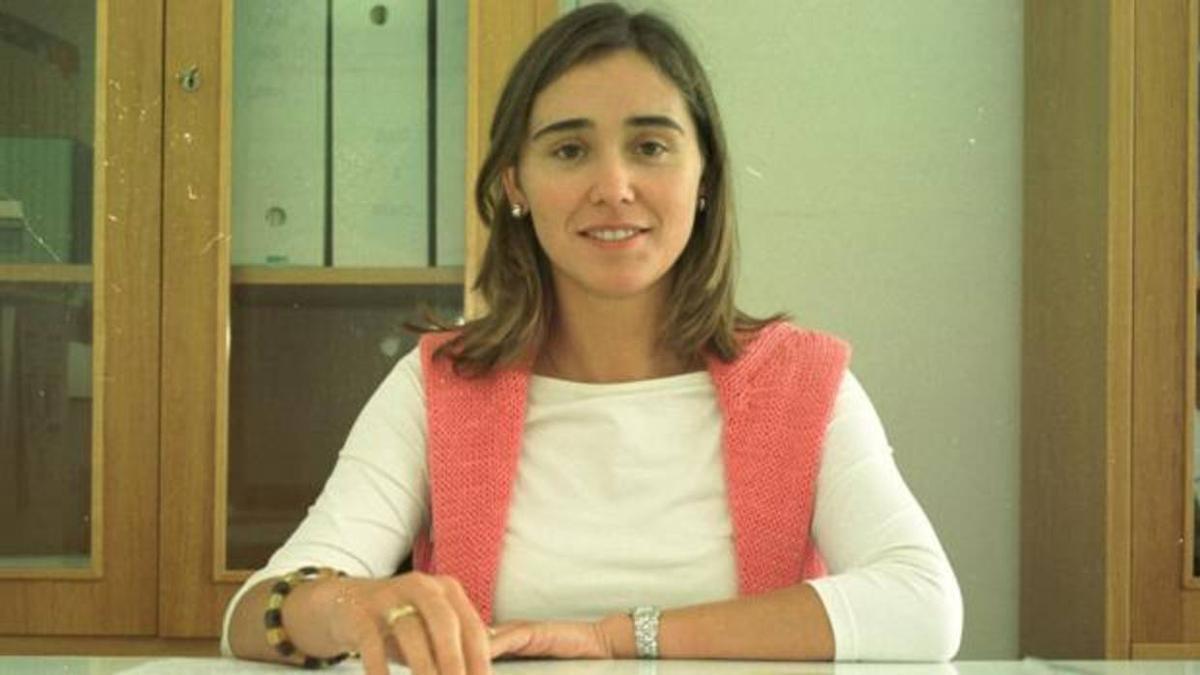Tania Varela cuando era directora del CIM de Cambados.