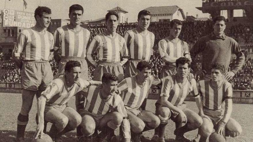 Los sevillistas Liz y Arenas, bazas del Deportivo hace medio siglo