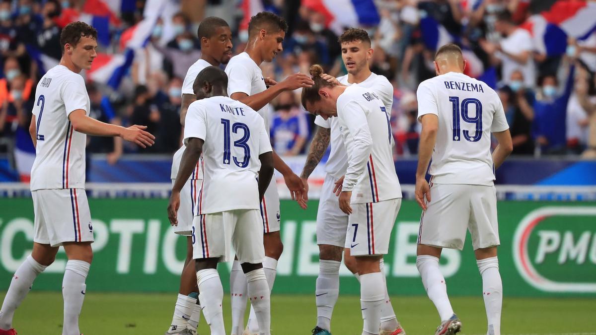 La selección de Francia.