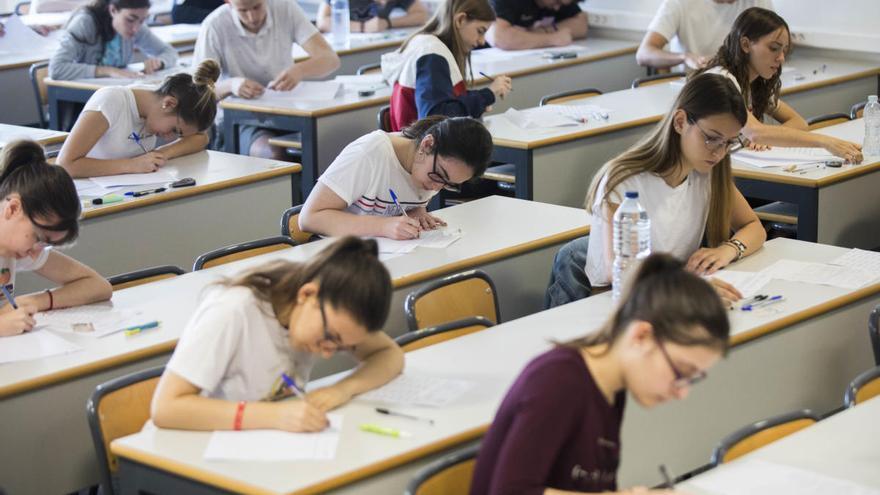 Más de 23.900 estudiantes de la Comunitat Valenciana se presentarán a las PAU