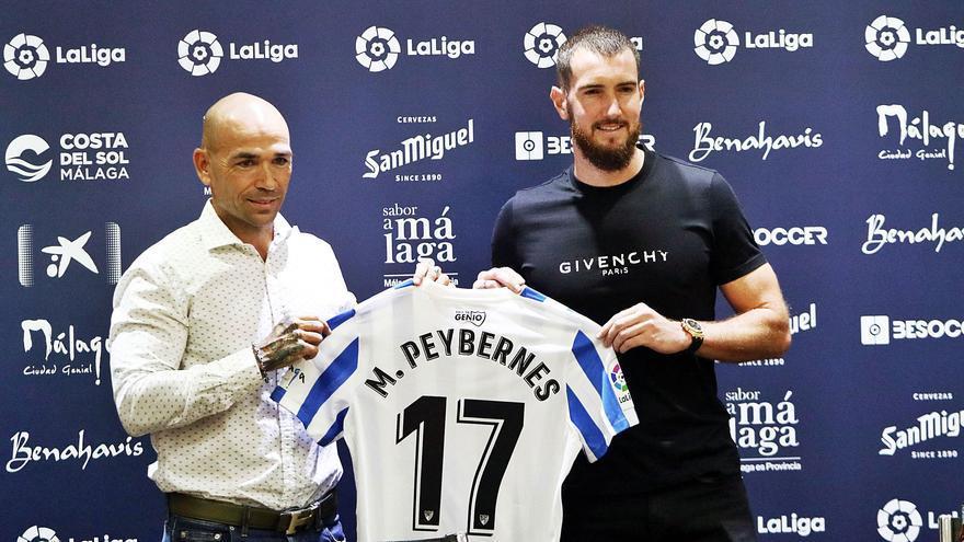 Málaga CF-Zaragoza: Dos equipos y un destino para Peybernes