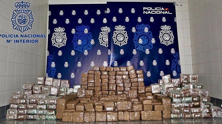 'Operación Bodorrio': el viaje de placer de unos sexagenarios con 500 kilos de hachís