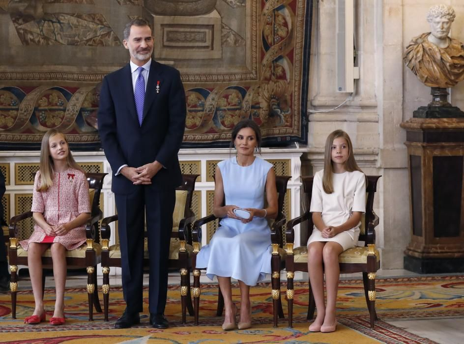 Cinco años de la llegada al trono de Felipe VI