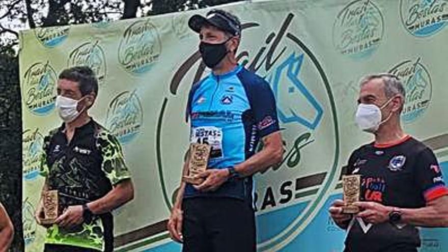 Sangiao, Conde y Hernández triunfan en el Trail das Bestas