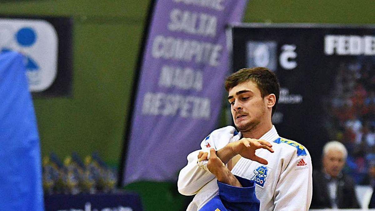 Dos judokas, durante un combate.