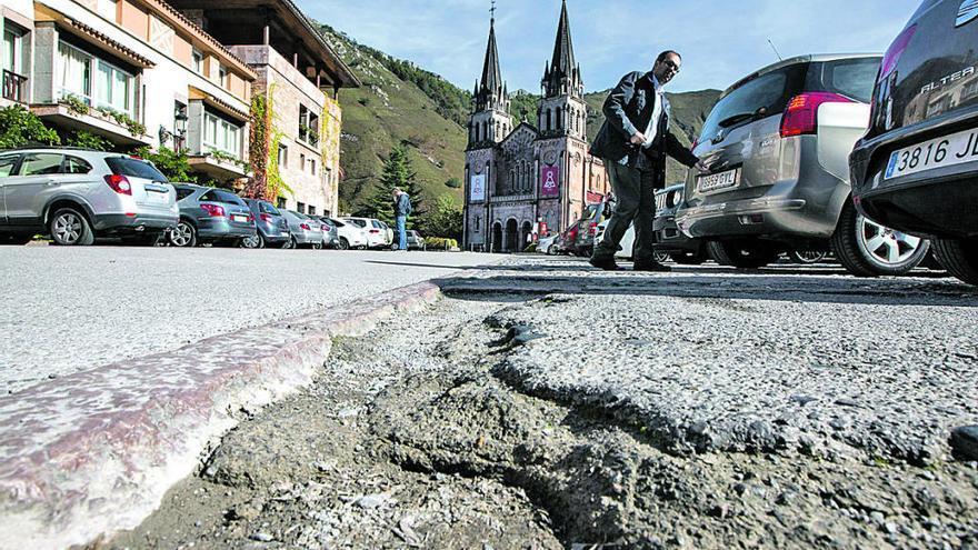 La obra de la explanada de Covadonga, entre las incluidas en la ley de crédito extraordinario