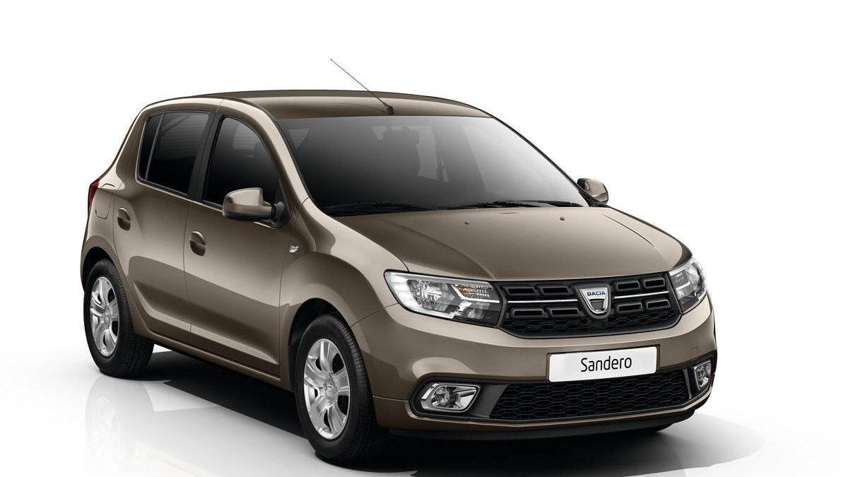 El Dacia Sandero es de los más baratos del mercado.