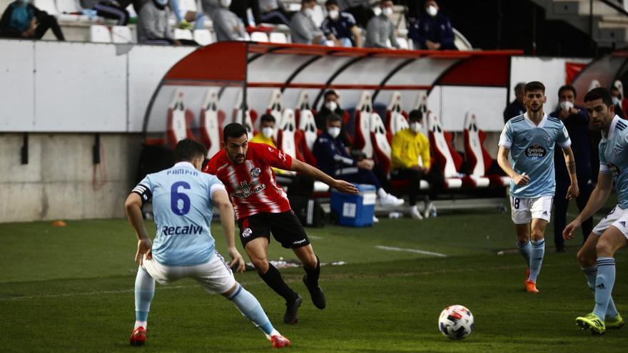 El Zamora CF trunca su buena racha con una dura derrota ante el Celta B
