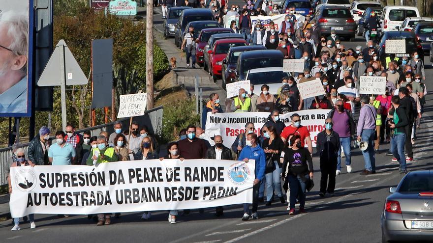 Los vecinos, en pie de guerra contra el peaje de la AP-9 entre Vigo y Redondela