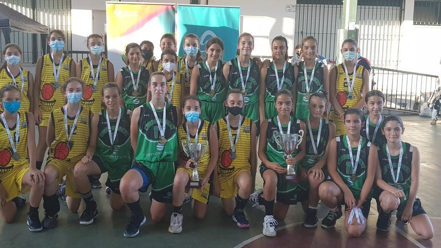 El Gestión y Calor Cordobasket logra su tercer título mini femenino seguido