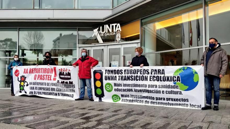 Colectivos se movilizan para pedir un reparto ecosocial de los fondos europeos