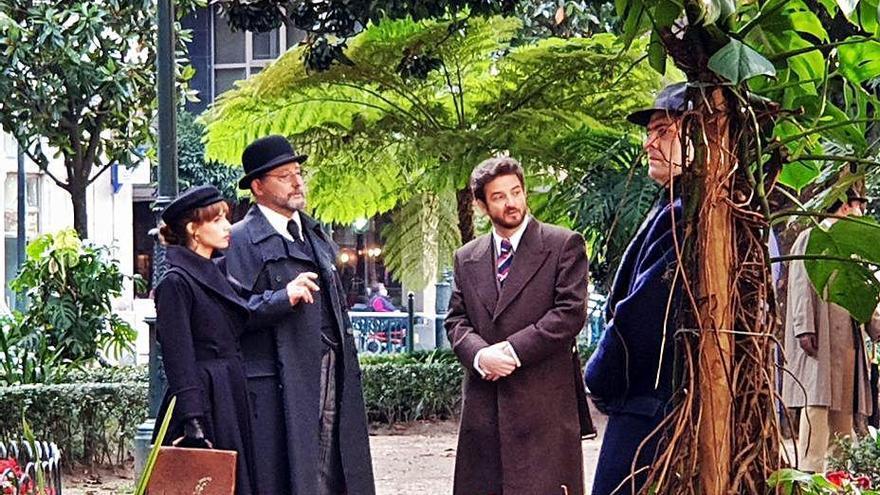 Ángela Molina, Álex García y Tito Valverde se suman al reparto de 'Un asunto privado'