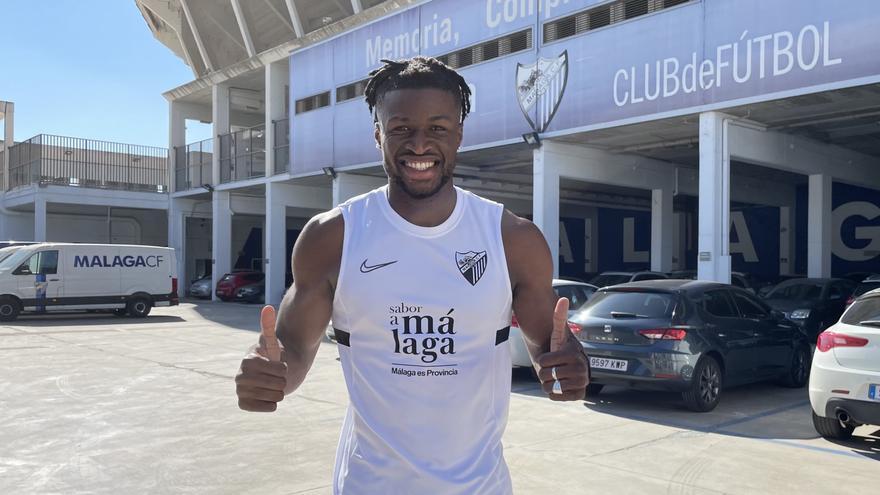 Sekou Gassama refuerza la delantera del Málaga CF